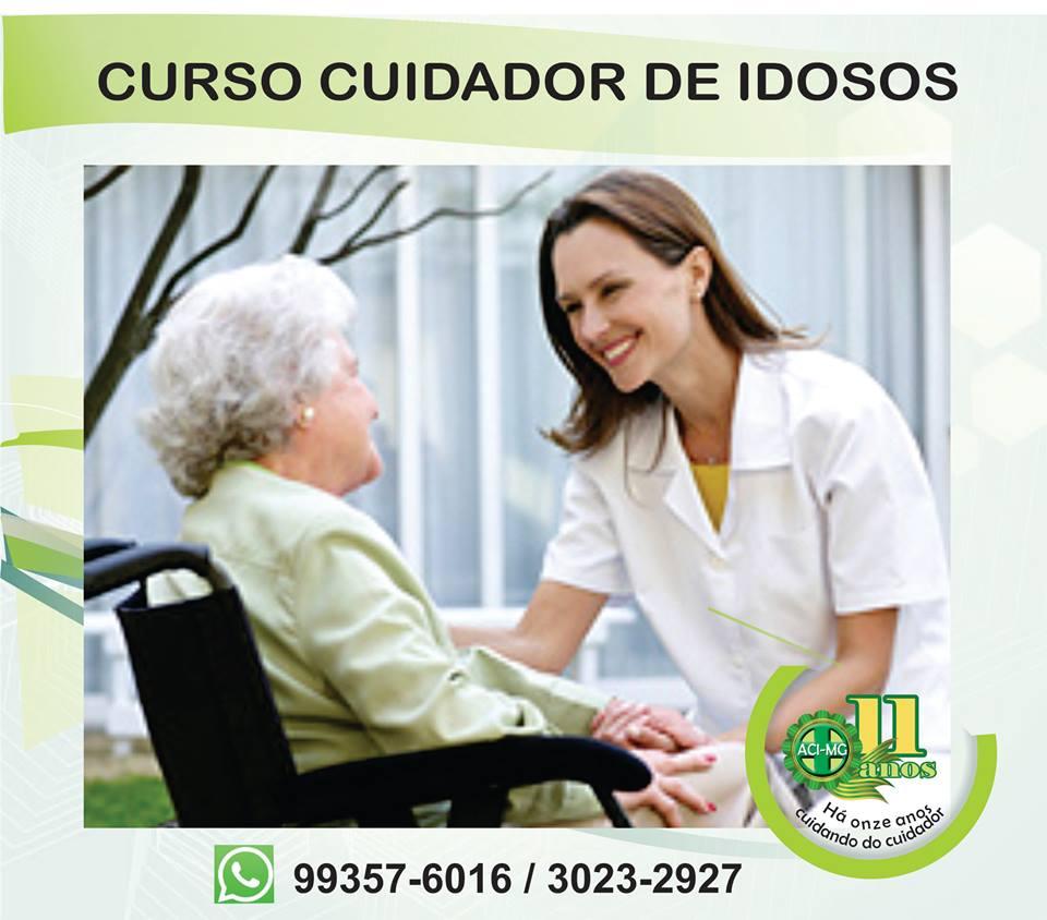 Curso cuidador de idosos 2018